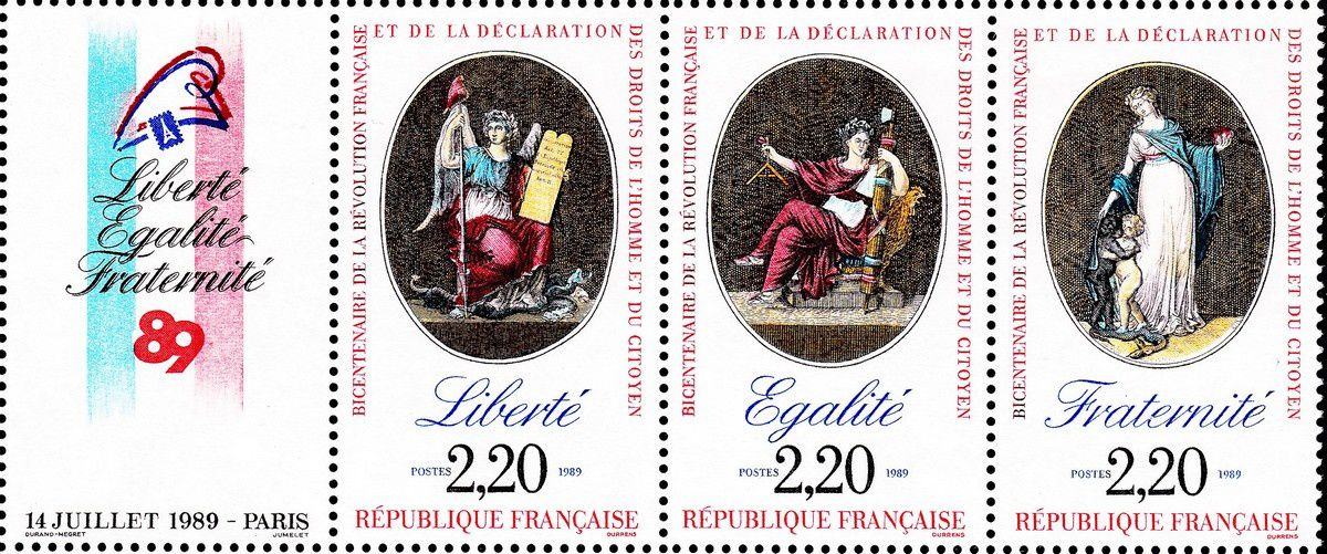 1789-1989 : collection thématique. France : Devise de la République