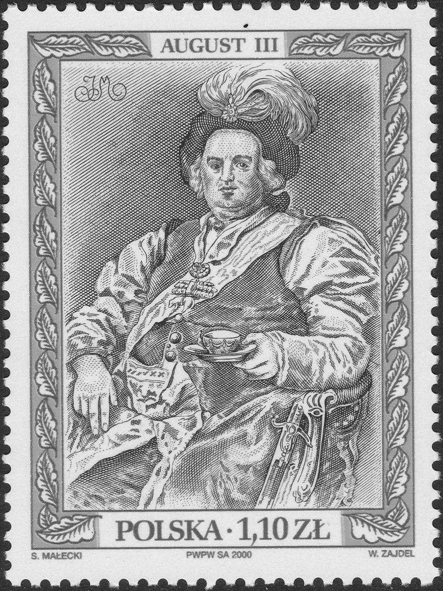 Auguste III (1696-1763), roi de Pologne de 1733 à 1763