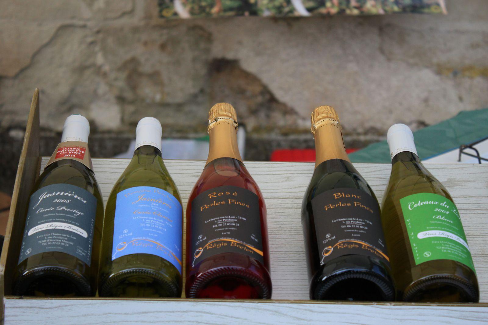 Régis Breton un artiste du vin