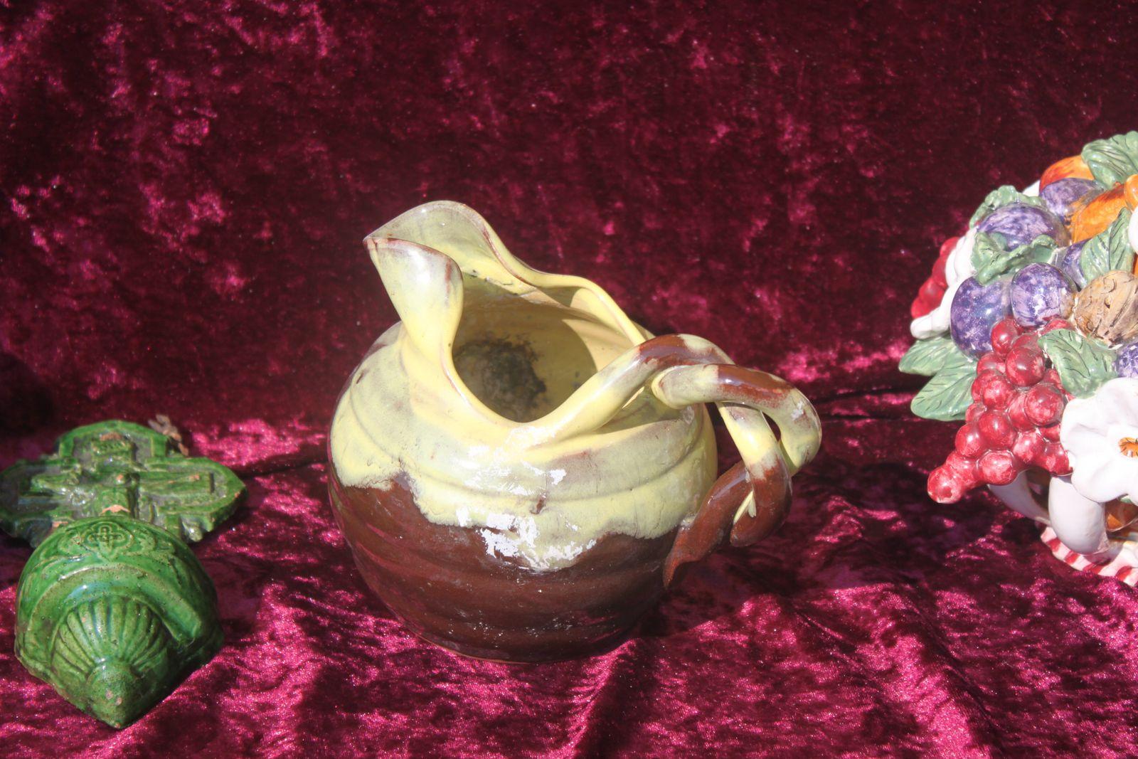 Alain Champion, un antiquaire spécialiste des céramiques était là le 7 juillet