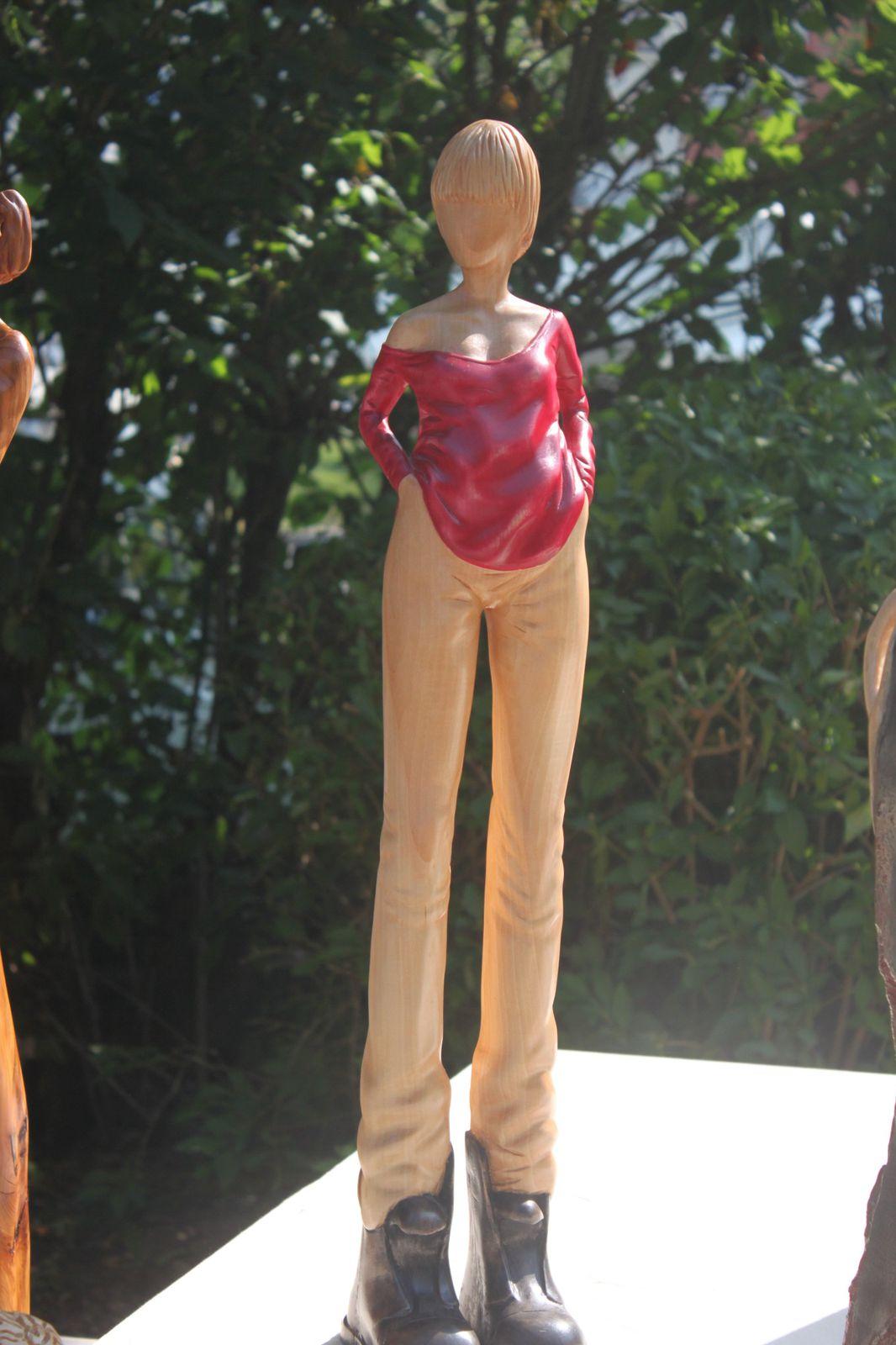 Jean-Pascal Najean, des sculptures grandioses, primées par le public !!