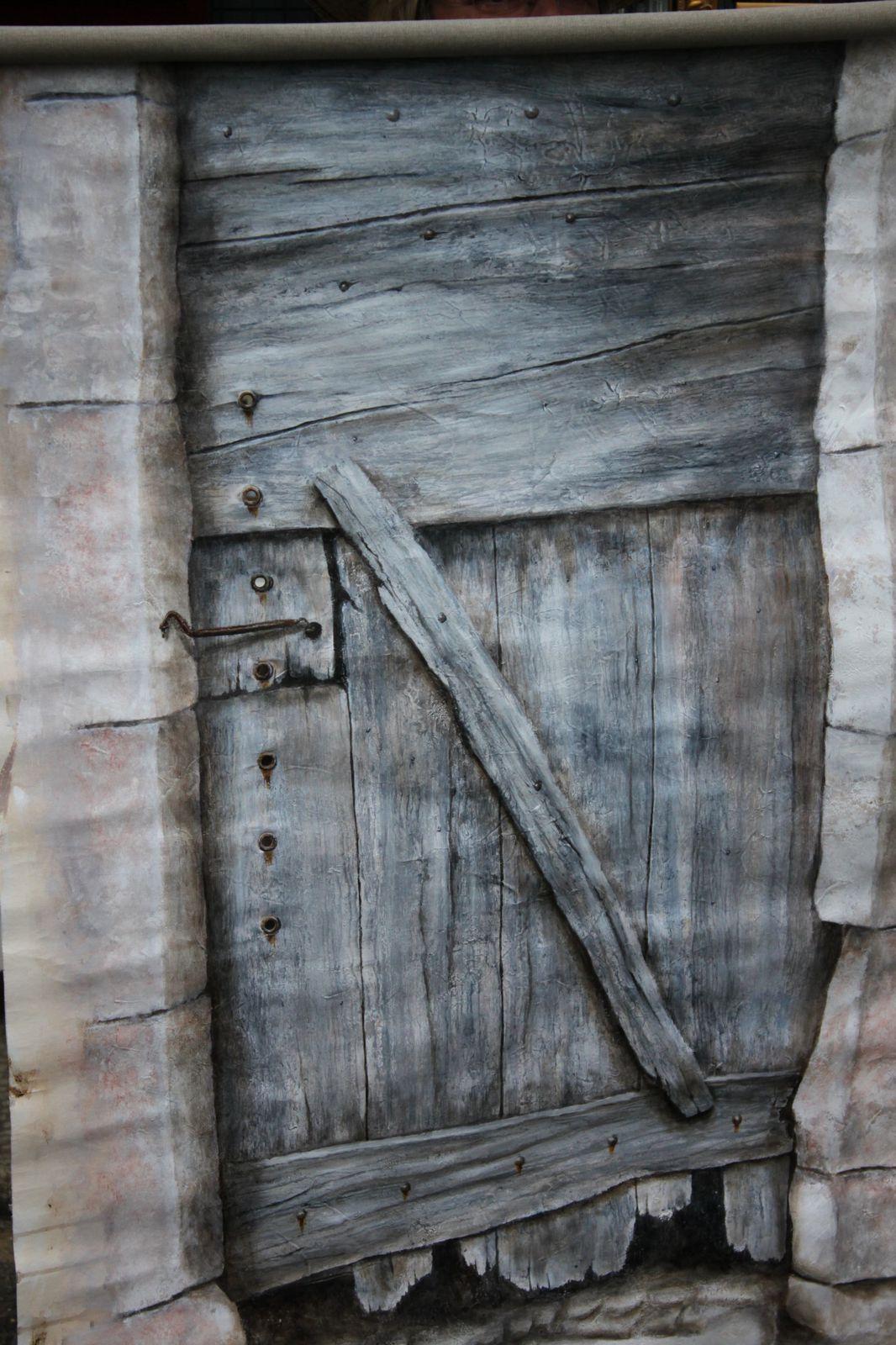 Christine Chastenet, peintre en trompe l'oeil