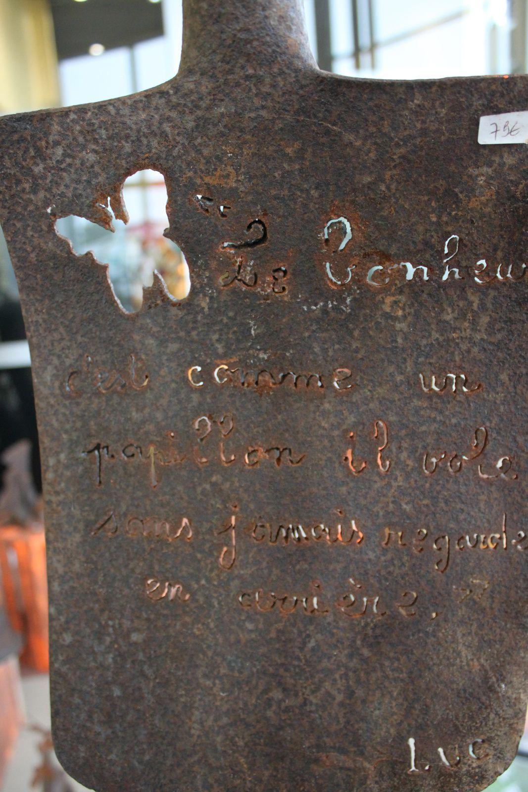 Papillon&quot&#x3B; Jean-Luc tastevin exposera aux trois prochaines Puces Antiquités  Artistes
