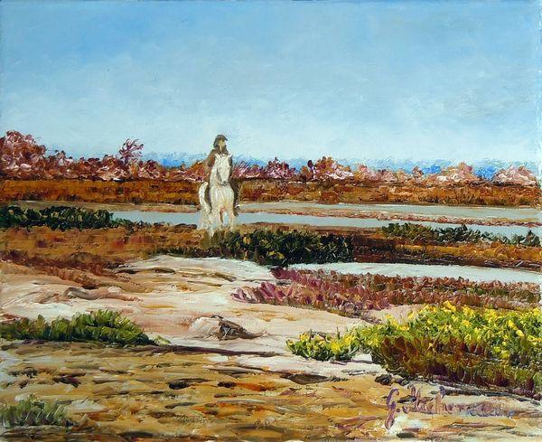 L'artiste peintre Gyslaine Pachet-Micheneau sera présente le 27 avril