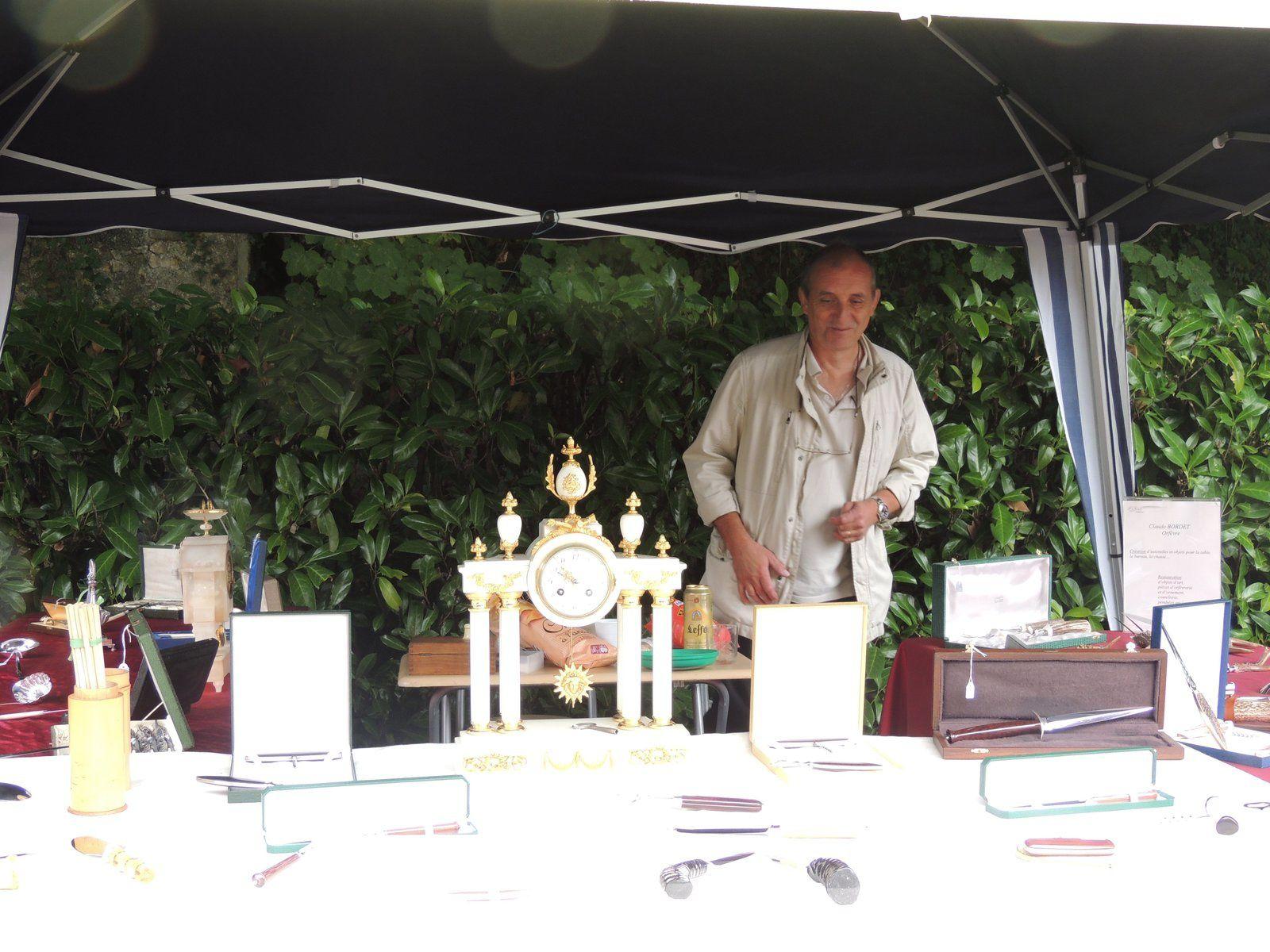 Claude Bordet ,orfèvre, sera présent à la Chartre sur le Loir le 27 avril