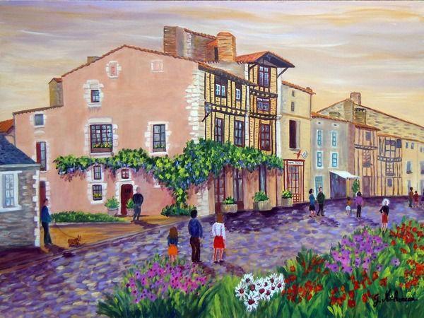 L'artiste peintre Gyslaine Pachet-Micheneau expose à Bourges du 30 avril au 31 mai 2014