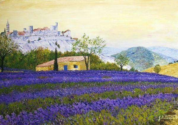 Gyslaine Pachet-Micheneau expose le 10 mai au château d'Azay-le-Ferron