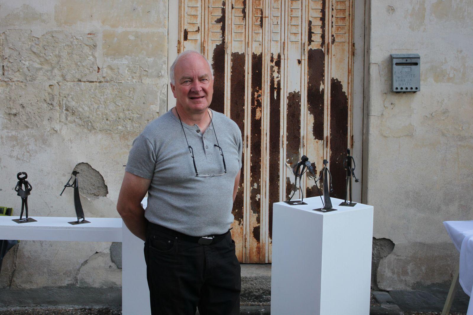 Jean-Paul Cordier expose au Mans du 14 novembre au 31 décembre