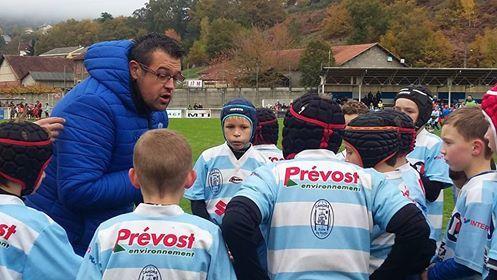 Les Petits Diables de Cahors Rugby en forme à Decazeville