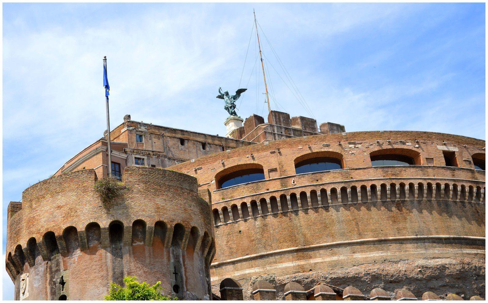 Rome Article 4 : Le château Saint-Ange