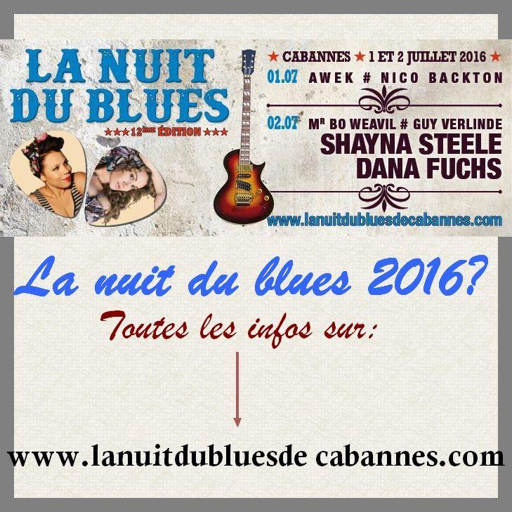 NUIT DU BLUES 2016