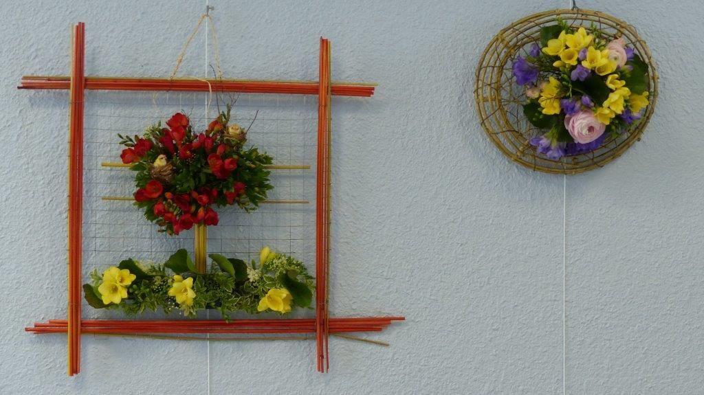 L'Art floral au salon de peinture