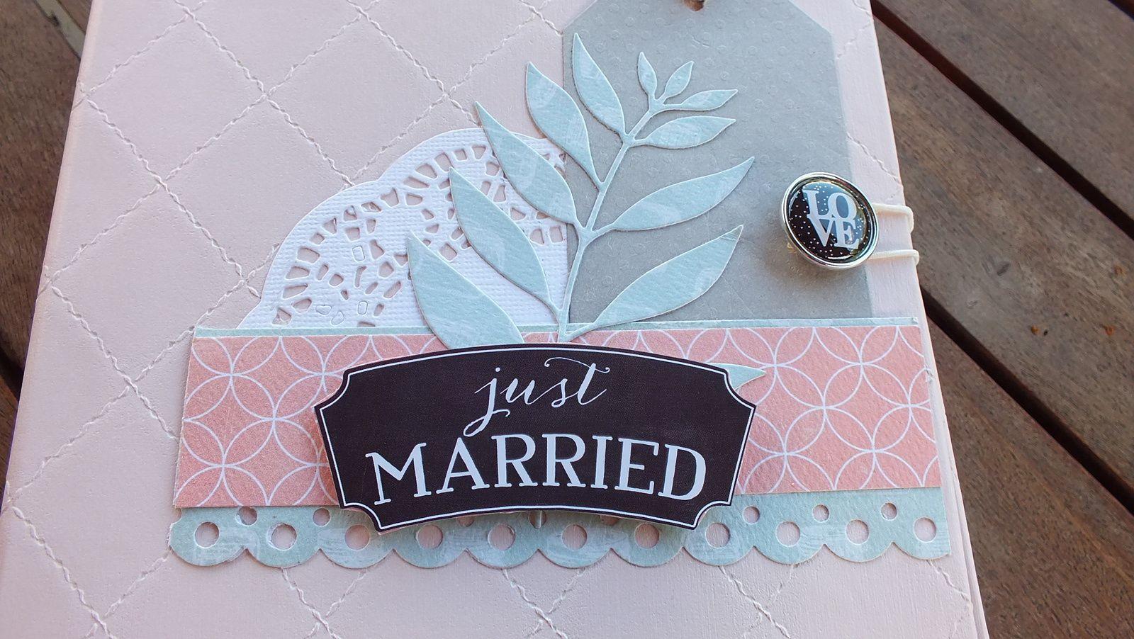 Offert à l'occasion d'un mariage