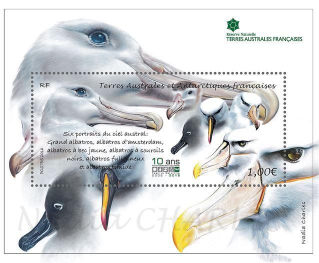 "La mquette finale du bloc ""becs d'albatros""."