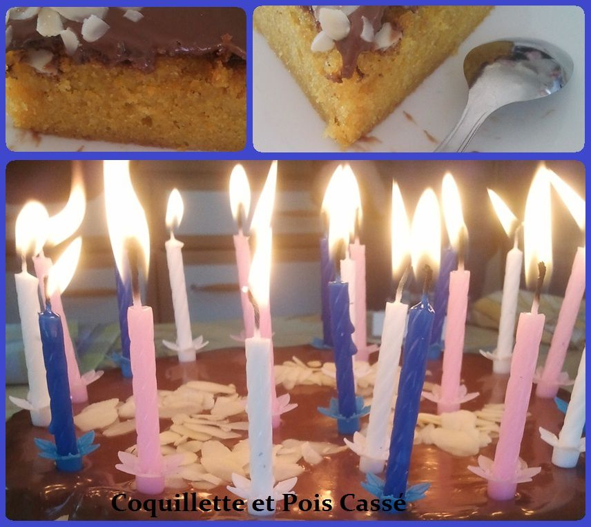Gâteau clémentines - Milka