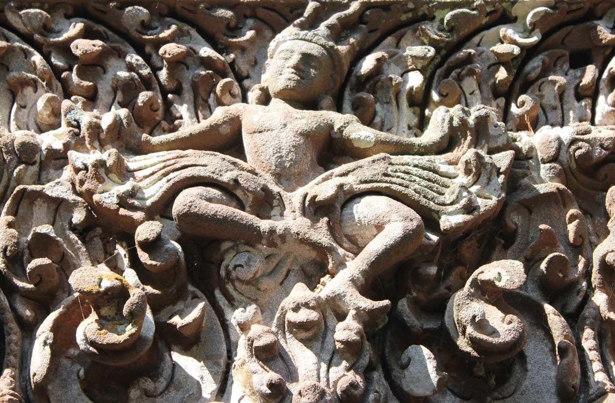 Au fil du mékong (8) : Le temple de la Montagne....