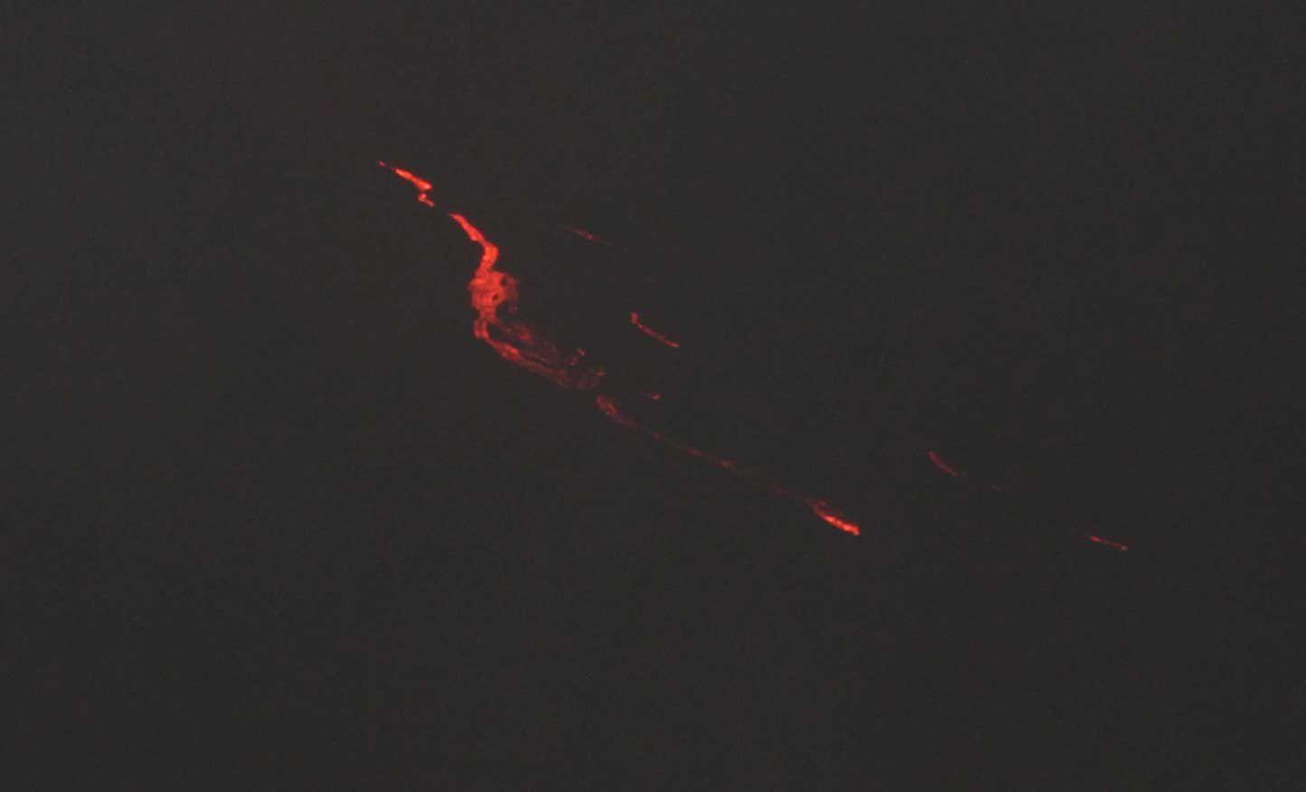 Le feu de la Terre....