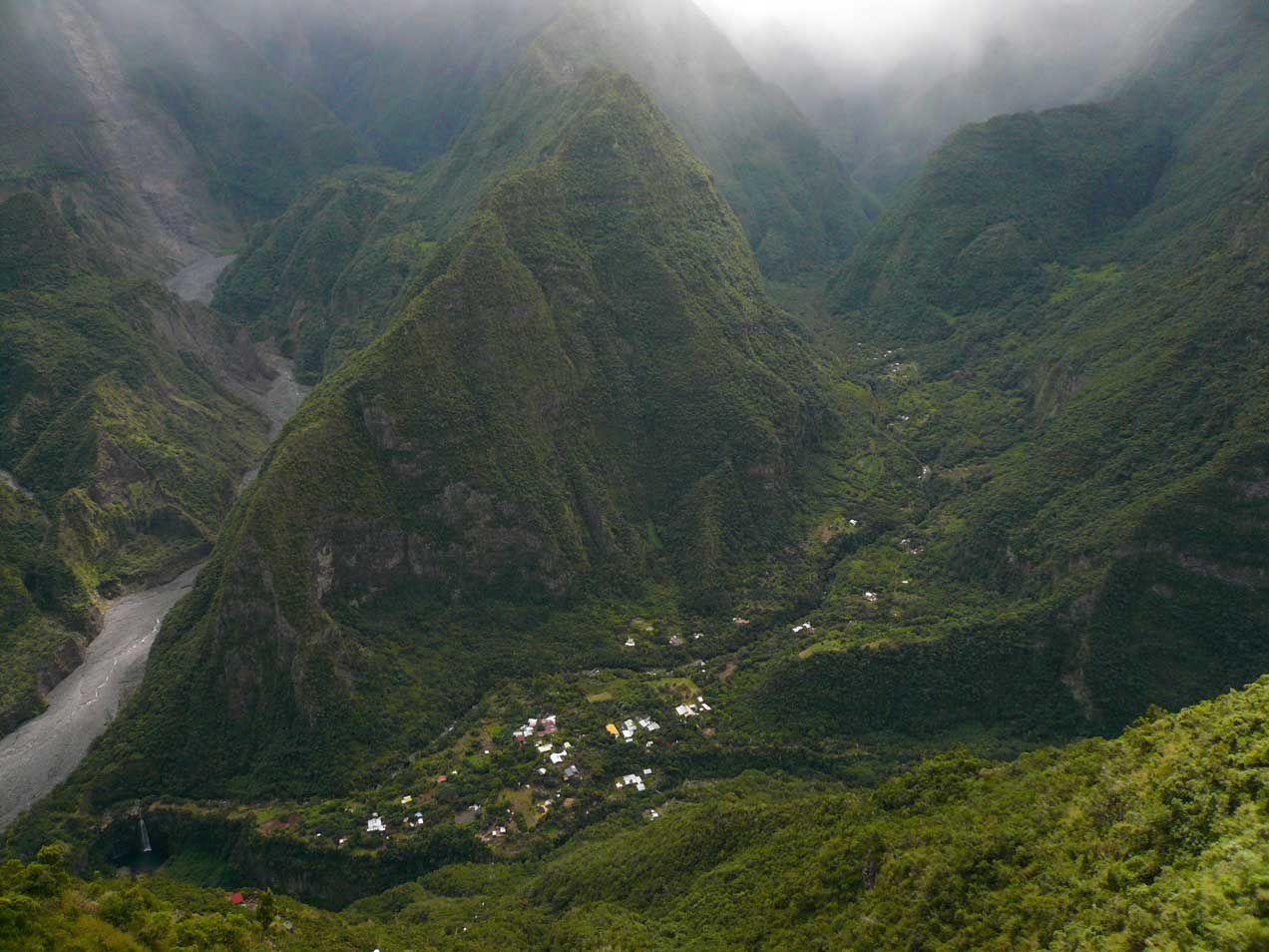Cartes postales d'un séjour à La Réunion...