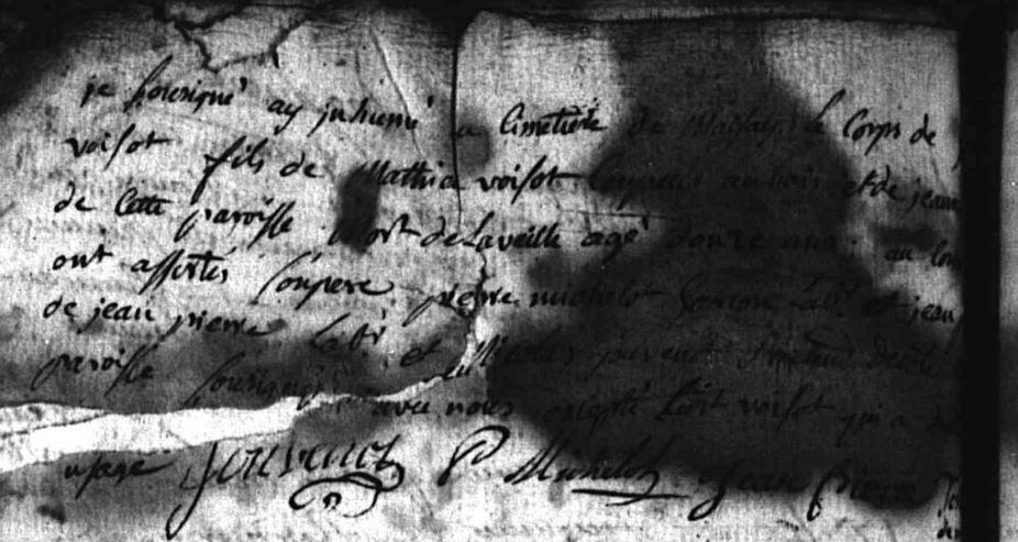 Décè de J ou G Voisot agé de 12 ans fils de Mathieu coupeur et de Jeanne… par déduction fils de Mathieu et de Jeanne Mery né envrion en 1763 donc Gérard