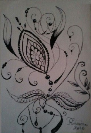 dessin, Zentangle et Enluminure