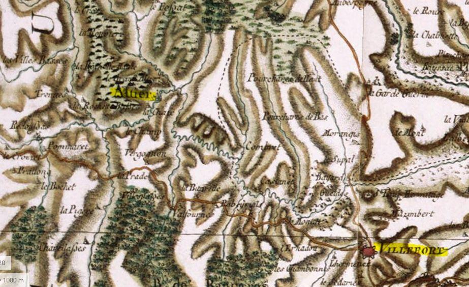 la famille Chas sont d' Altier en Lozère et d'aussi de Monselgues en Ardèche pas loin d'Altier.....