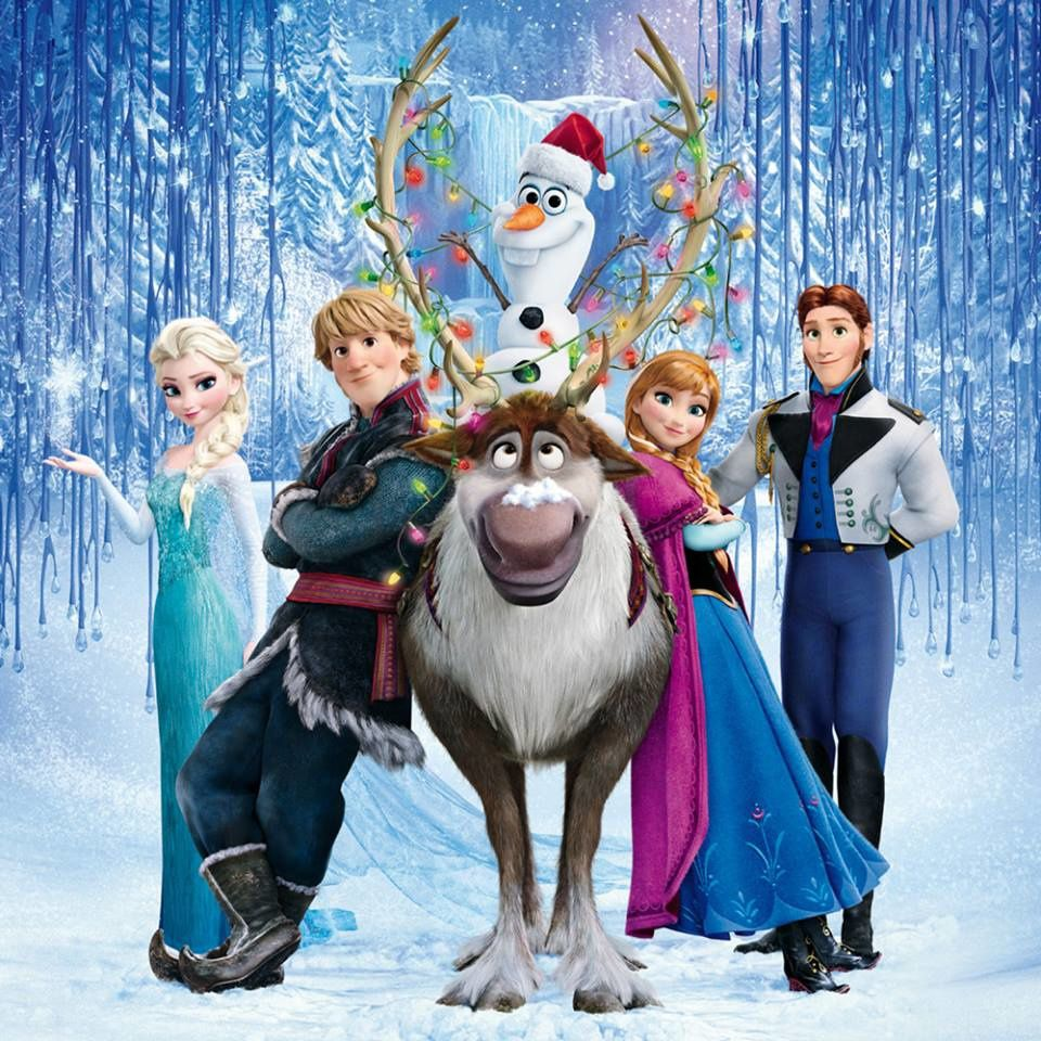 La reine des neiges l 39 trange univers de pandora - Papier peint reine des neiges ...