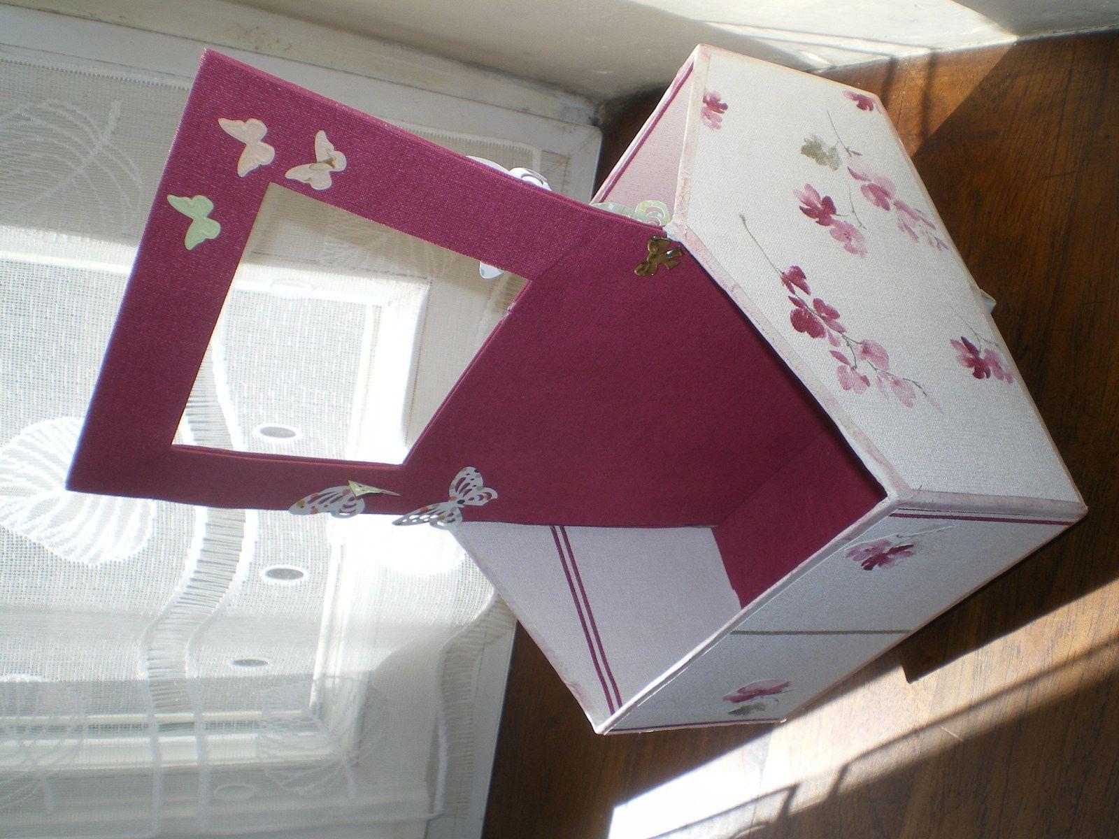 Quelques modèles de boîtes