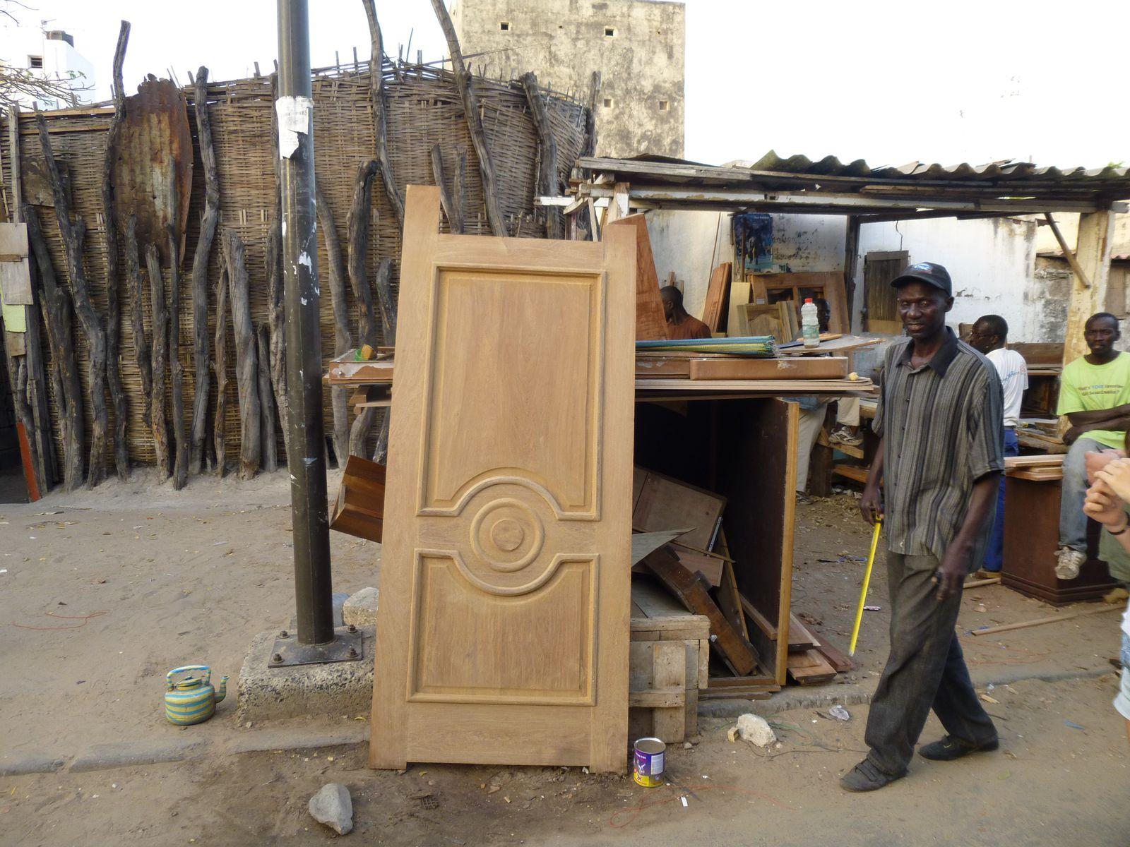 Mr Cissé et son travail