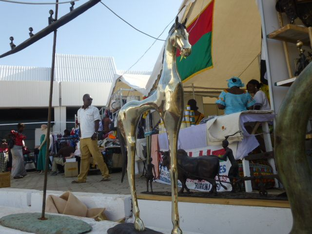 très belles sculptures du .........Burkina Faso