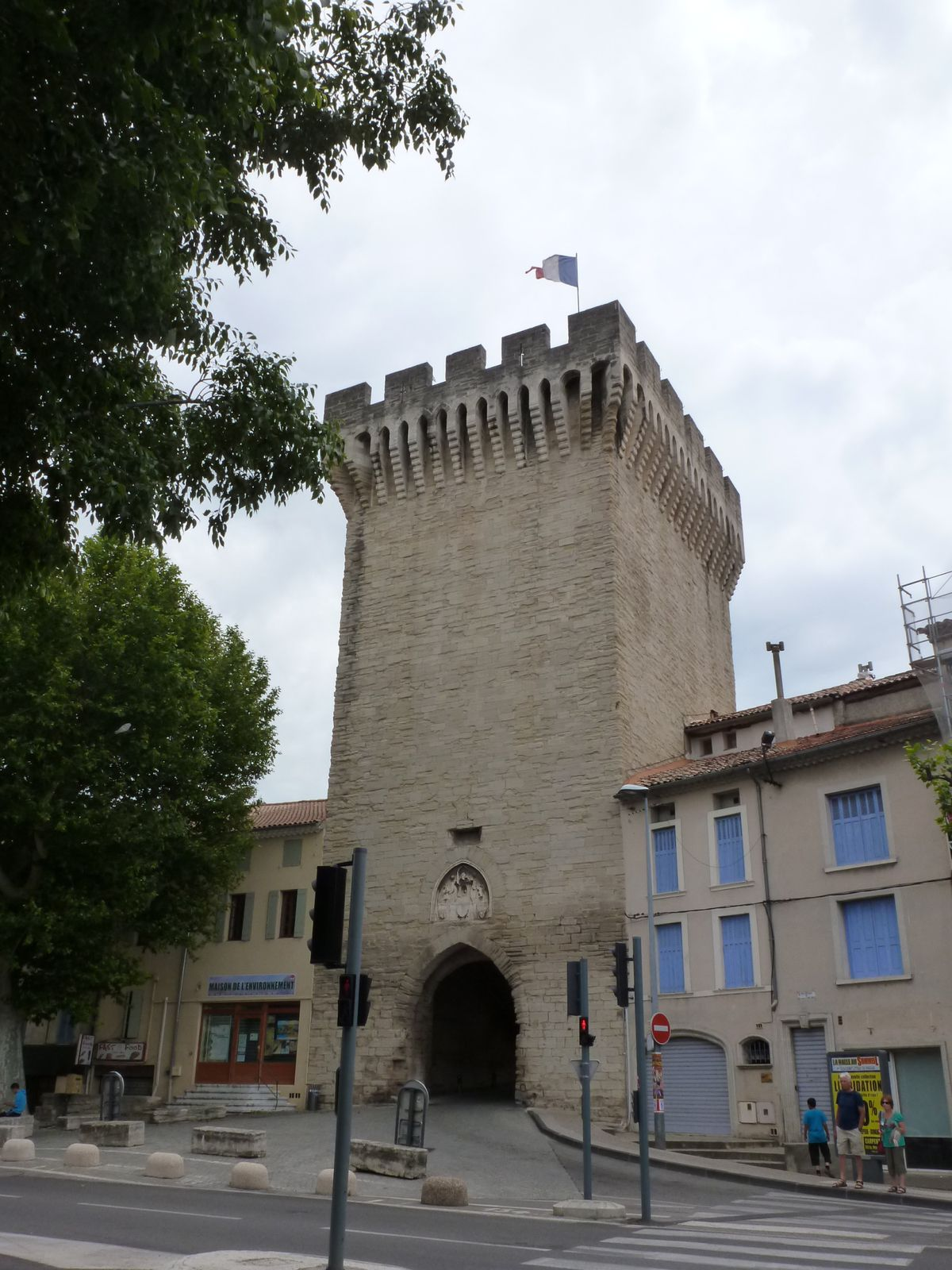 Back in Carpentras - the old town...