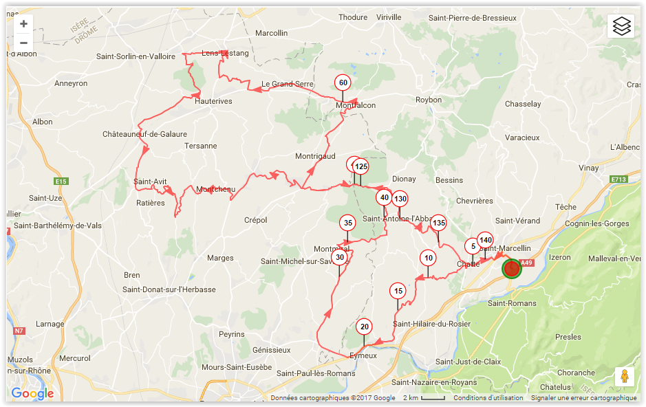 15 mai 2017 - Drôme des collines avec Brigitte