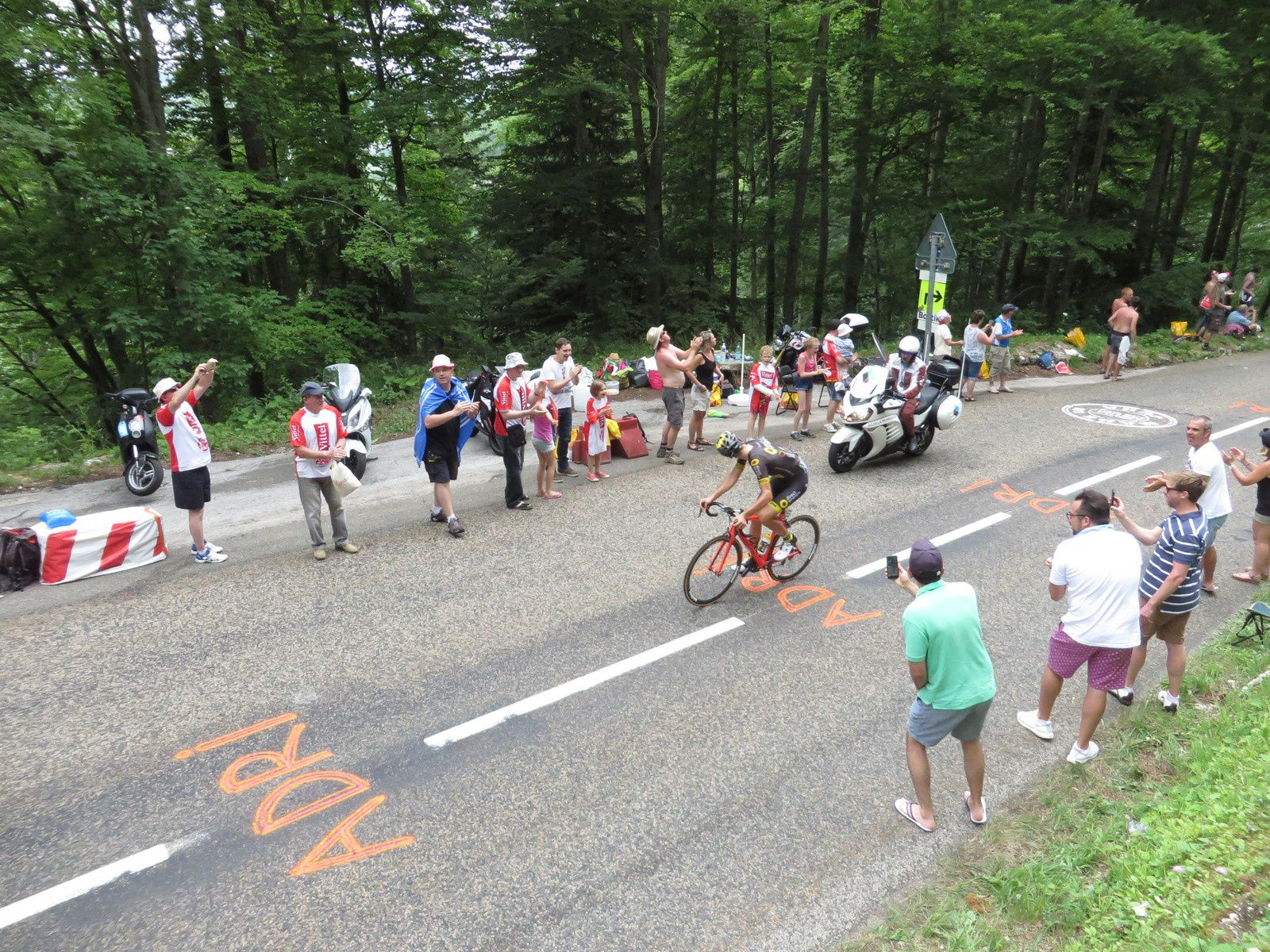 8 juillet 2017 - Jura tour de France-esque