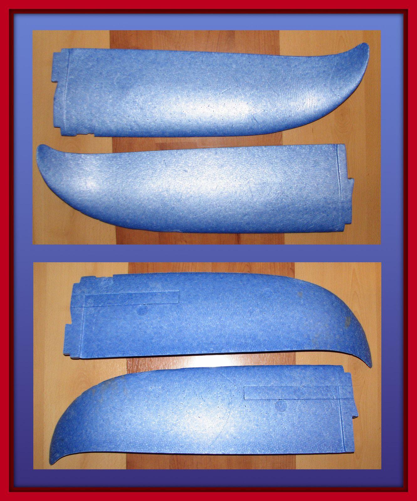 2 ailes EASYSTAR MULTIPLEX - Aéromodélisme