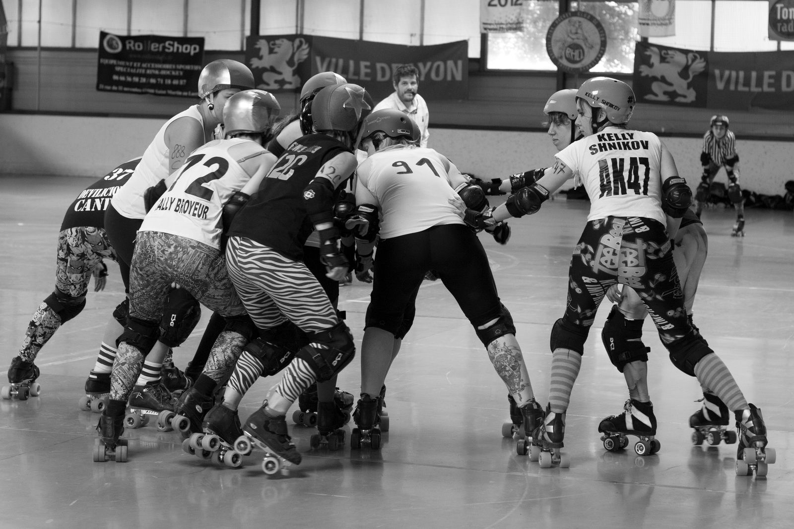 The Big Gang Theory, Roller Derby