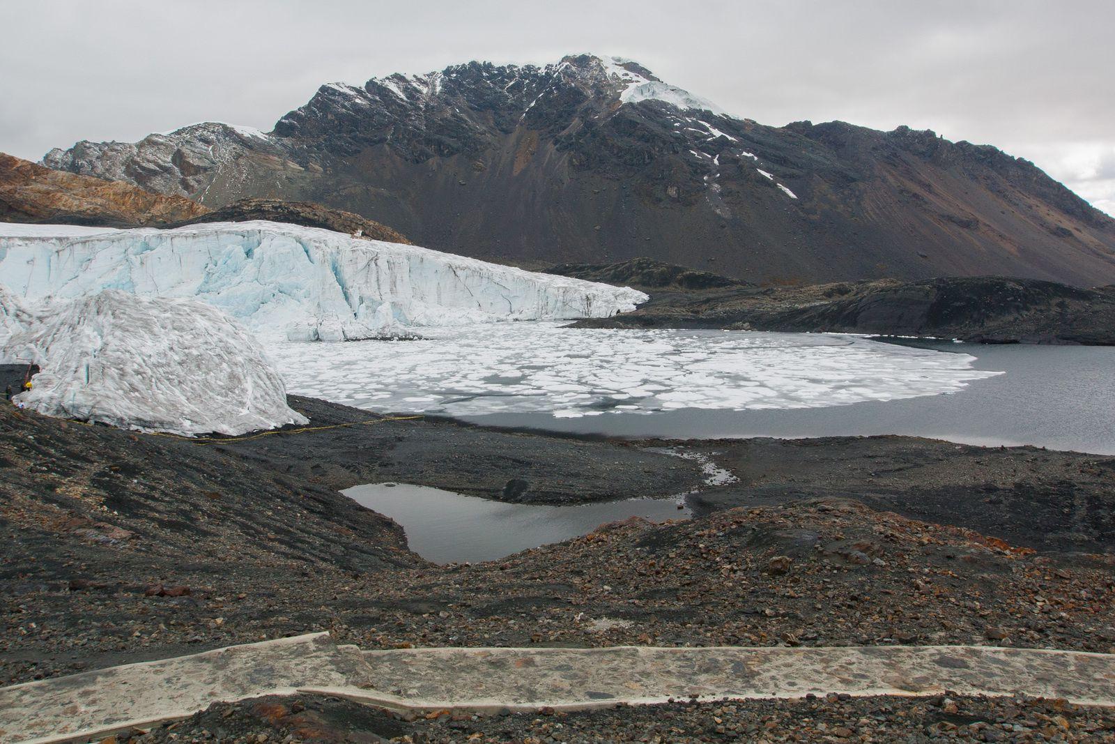 Glacier Pastoruri, Huaraz, Pérou