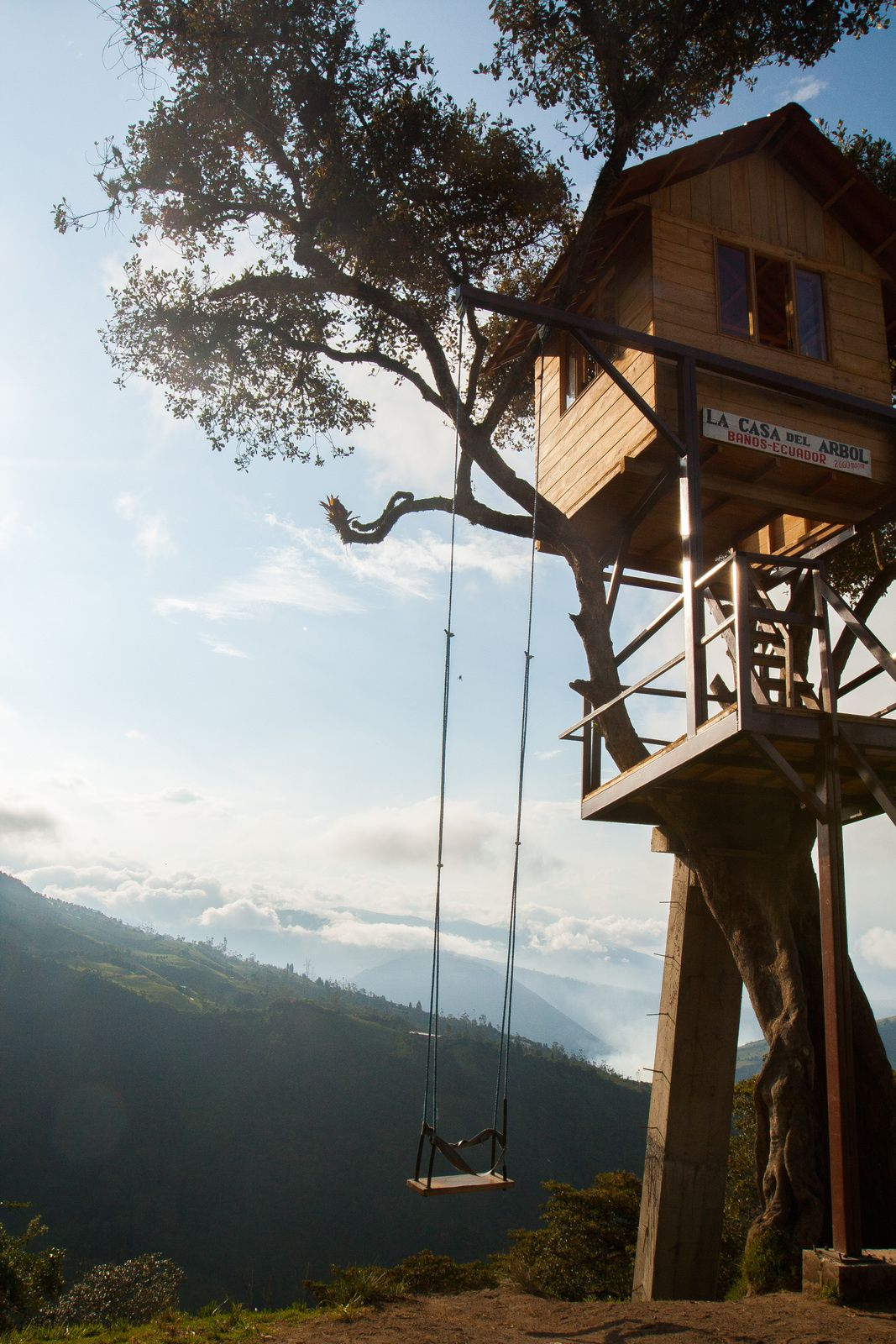 La Casa Del Arbol, Baños, province du Tungurahua