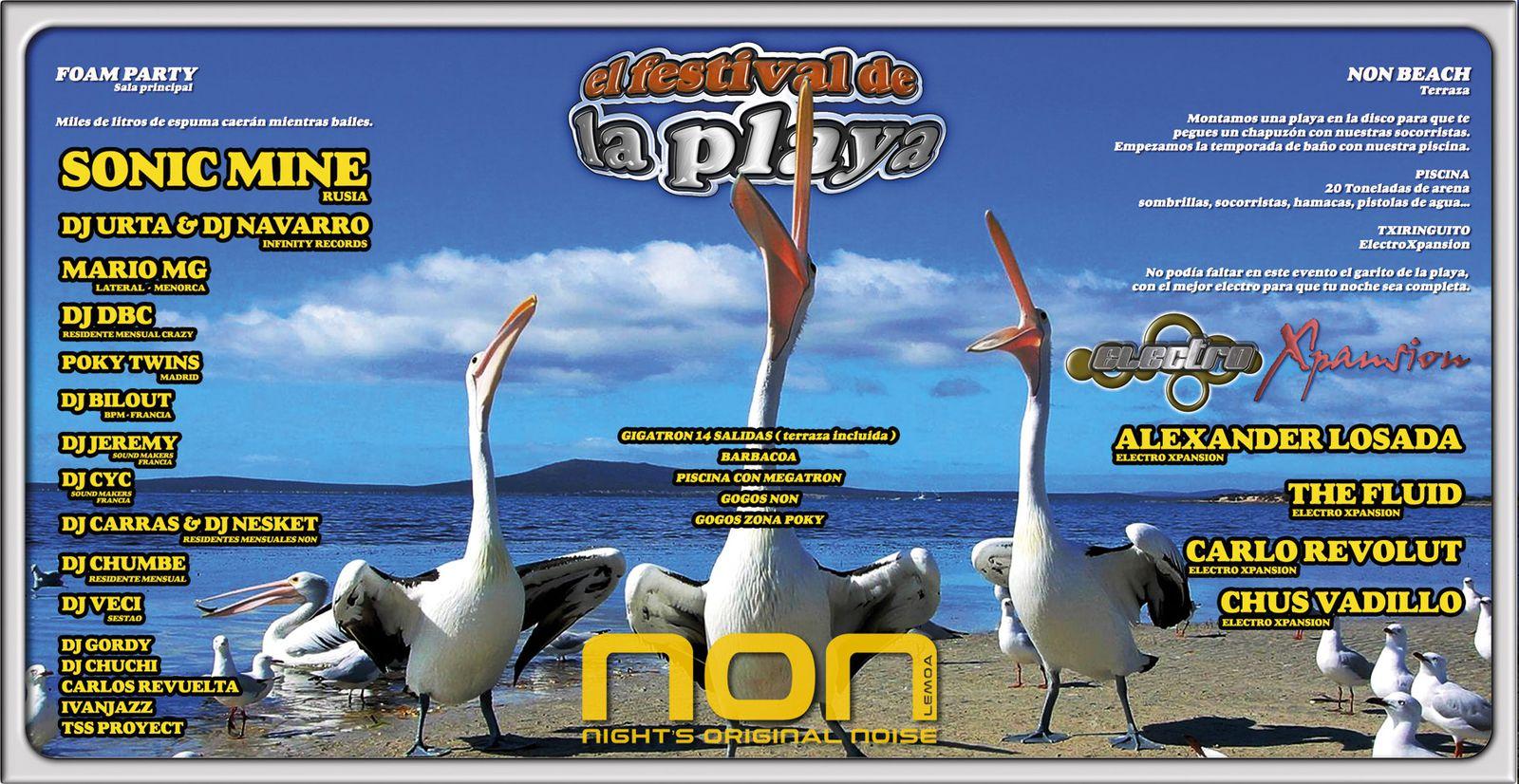 CyC &amp&#x3B; Jeremy (Sound Makers) @ El Festival de la playa (NON/Spain)