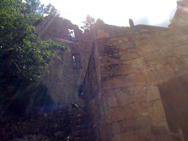 Pas de poétique des ruines à Guagno-les-Bains