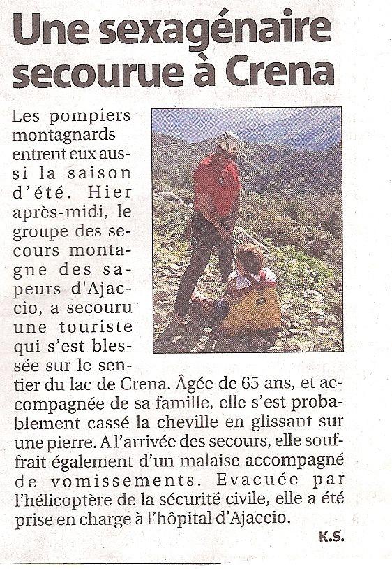 """""""Corse-Matin"""" du 8 mai 2015."""