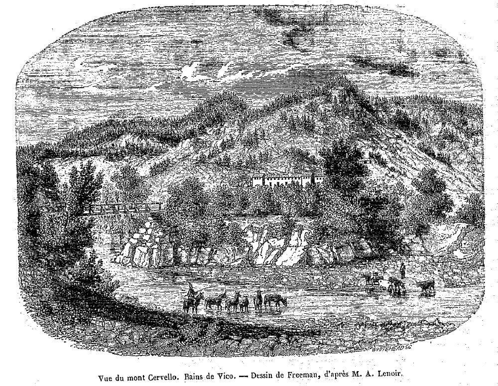 Depuis quand existe-t-il des maisons à Guagno-les-Bains? 2/2: naissance d'un village.