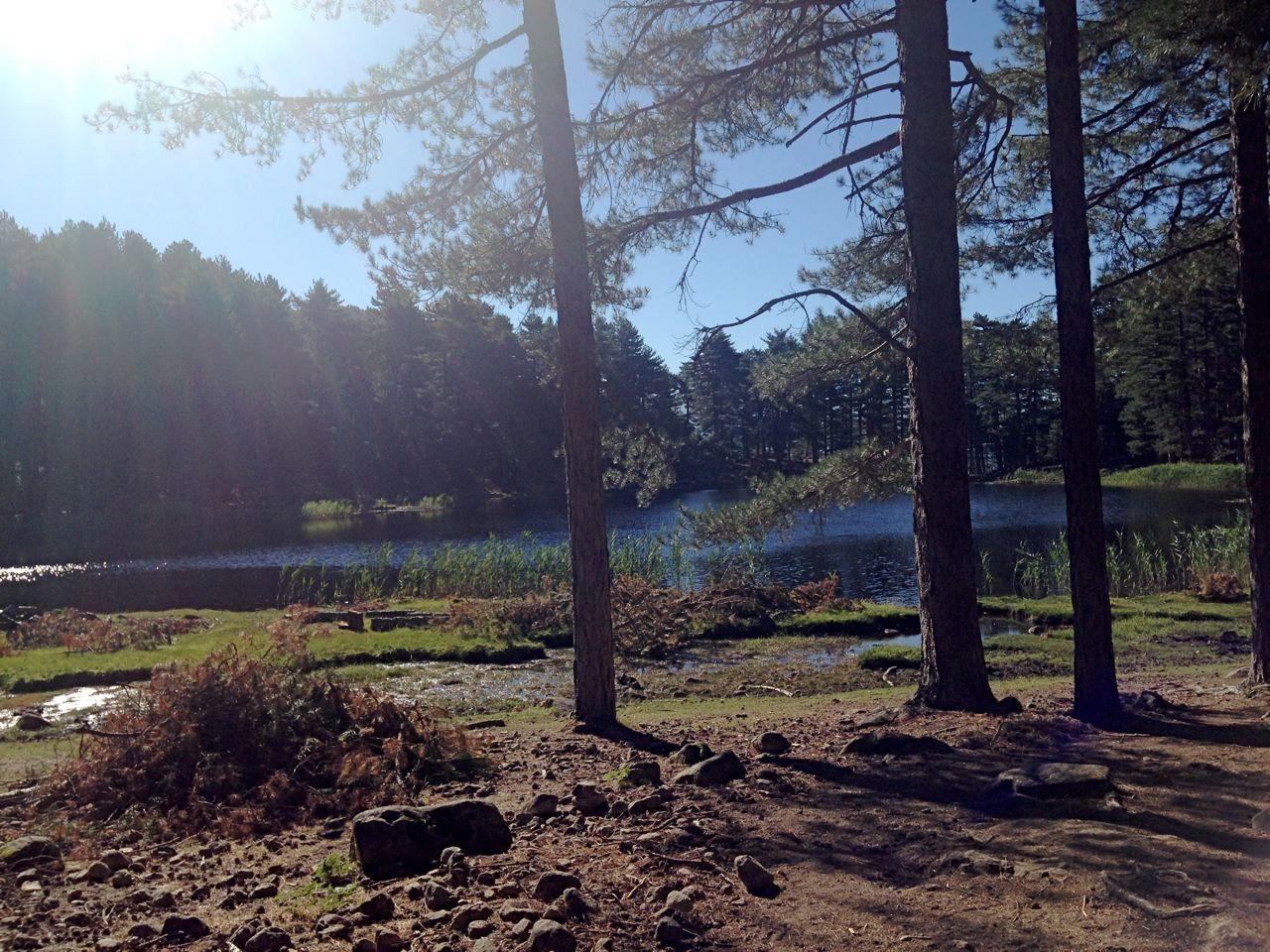 Le triste et effrayant lac de Creno vu par l'abbé Galletti