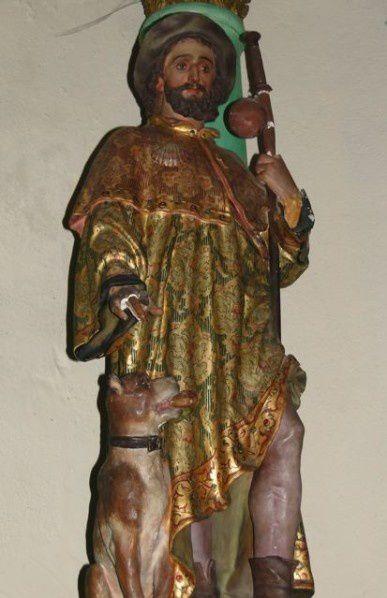 Solution de la devinette du mois : l'âge de la statue de saint Roch