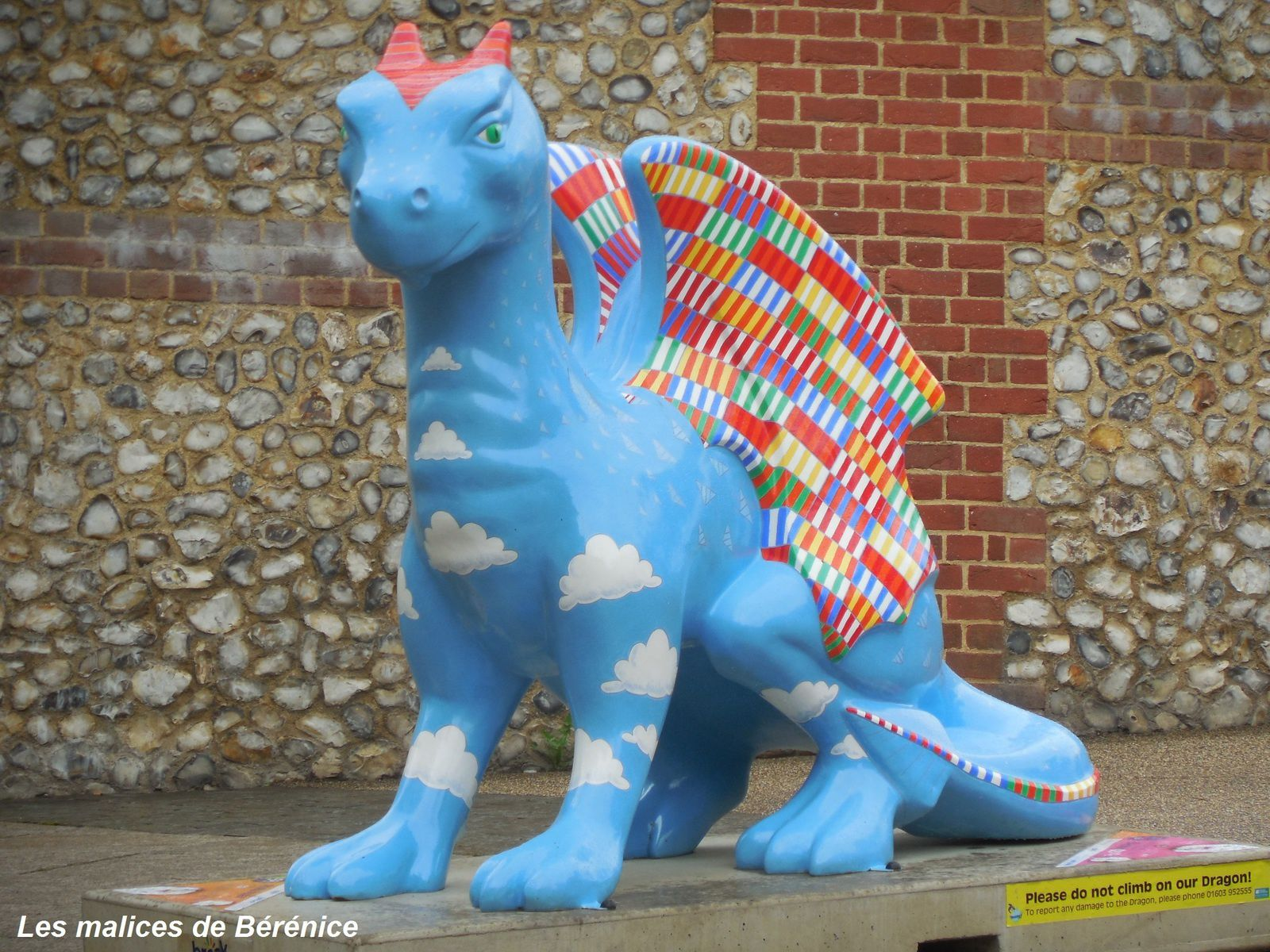 Norwich's colorful dragons, lieu de prise : Norwich, England