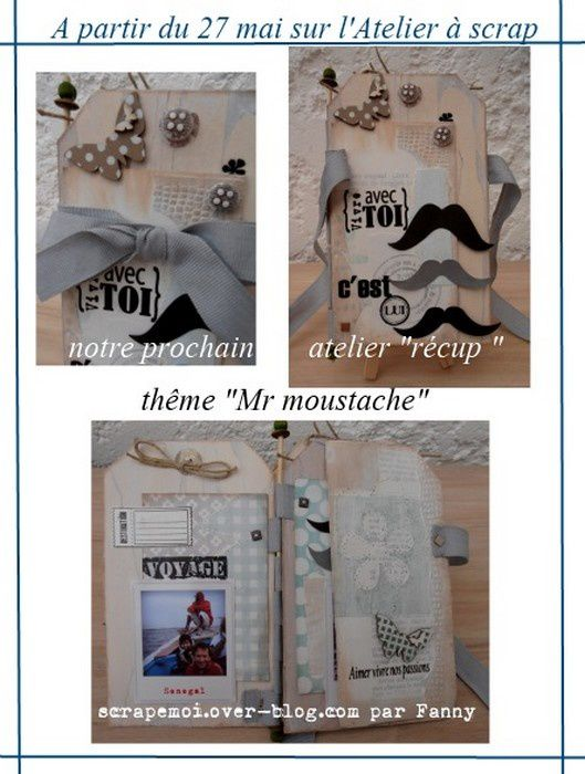 Mini recup &quot&#x3B;Mr Moustache&quot&#x3B; ....