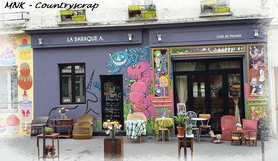 Une petite pause à la &quot&#x3B;Baraque à .. Café de Paname&quot&#x3B; ....