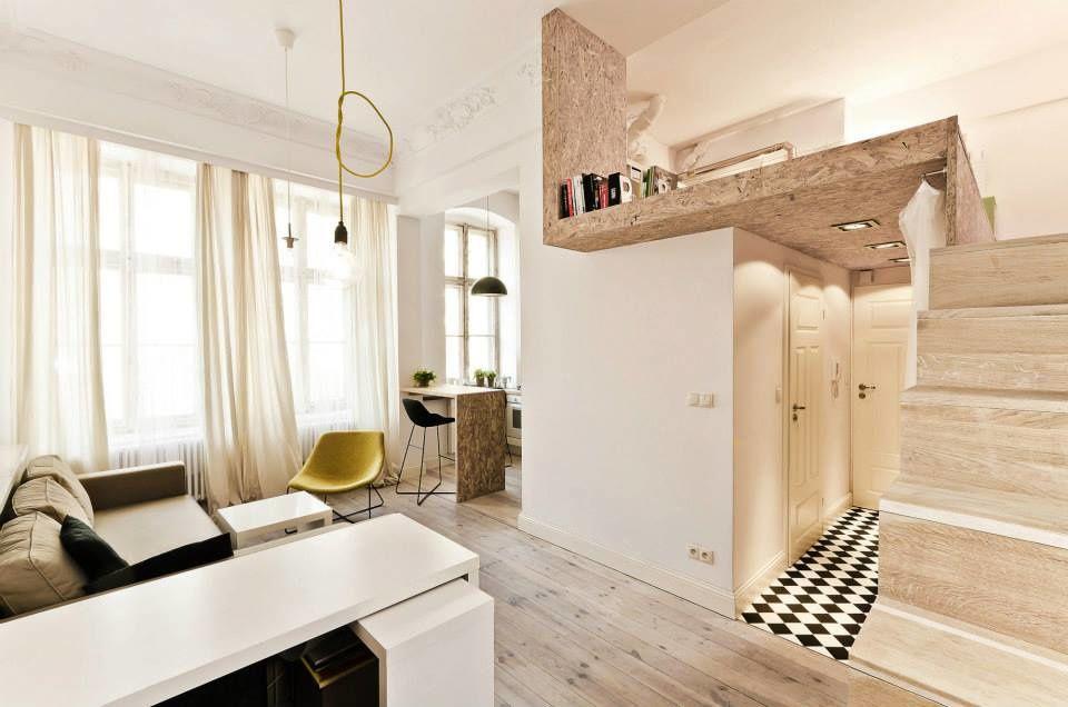 Petits espaces - studio de 29 m2.