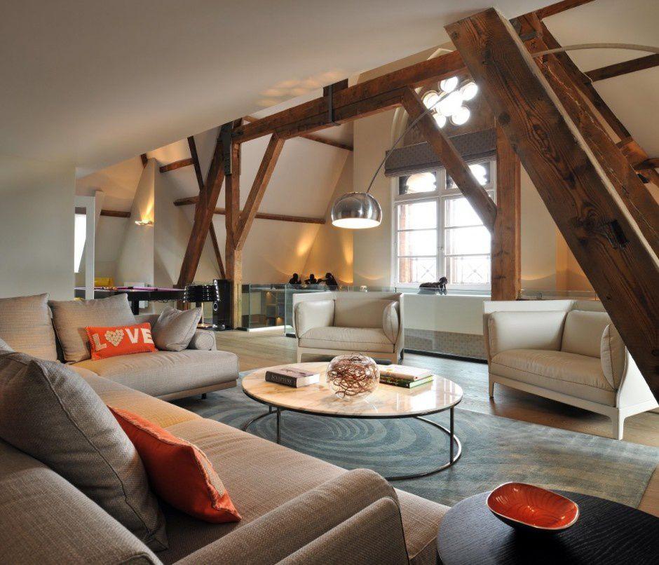 Un magnifique penthouse à Londres.