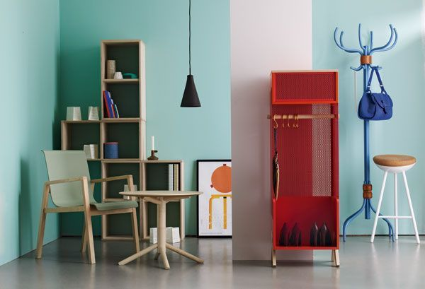 couleurs le rouge et le vert menthe mille m tres carr s. Black Bedroom Furniture Sets. Home Design Ideas