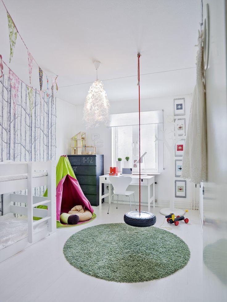 Chambre d'enfants - place de jeux