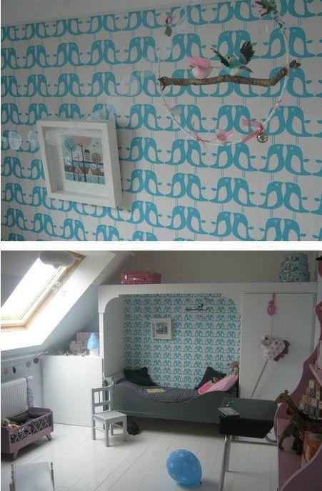 Des motifs décoratifs pour chambres d'enfants